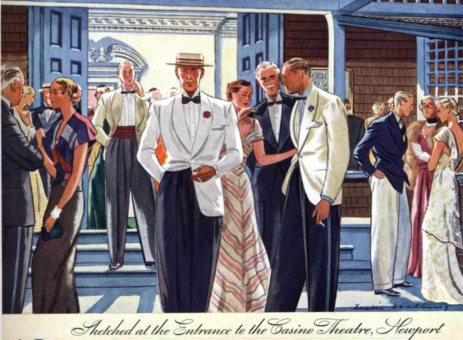 Talon ziper ad, 1935