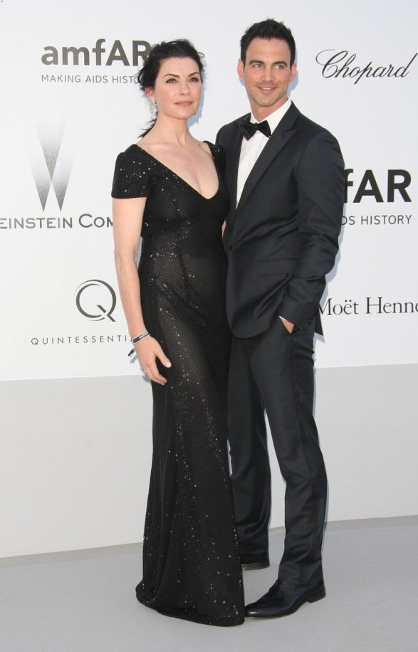Keith Lieberthal (husband of Julianna Margulies) at the amfAR benefit.