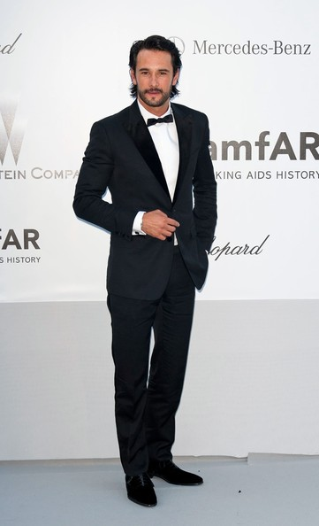 Rodrigo Santoro at the amfAR gala fundraiser.