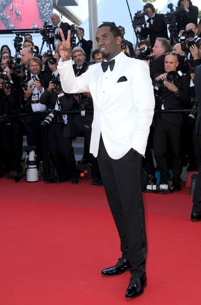 "Sean Combs at the premiere of ""Killing them Softly""."