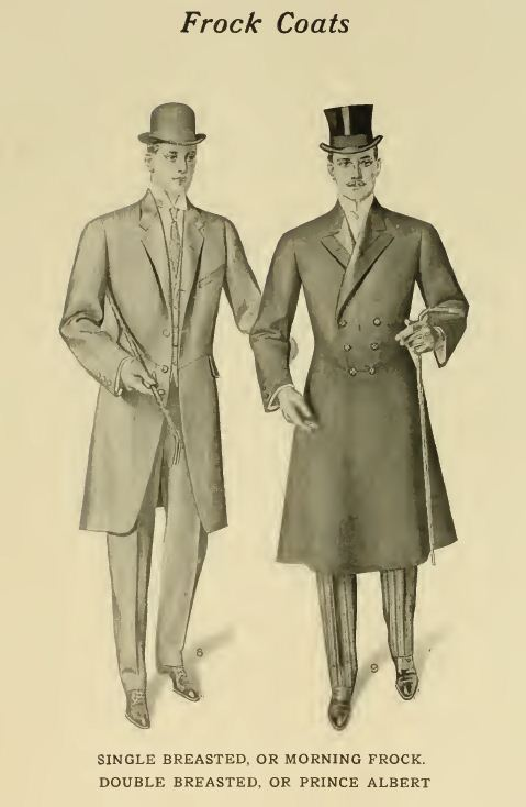 1907 Formal Wear III The Frock Coat