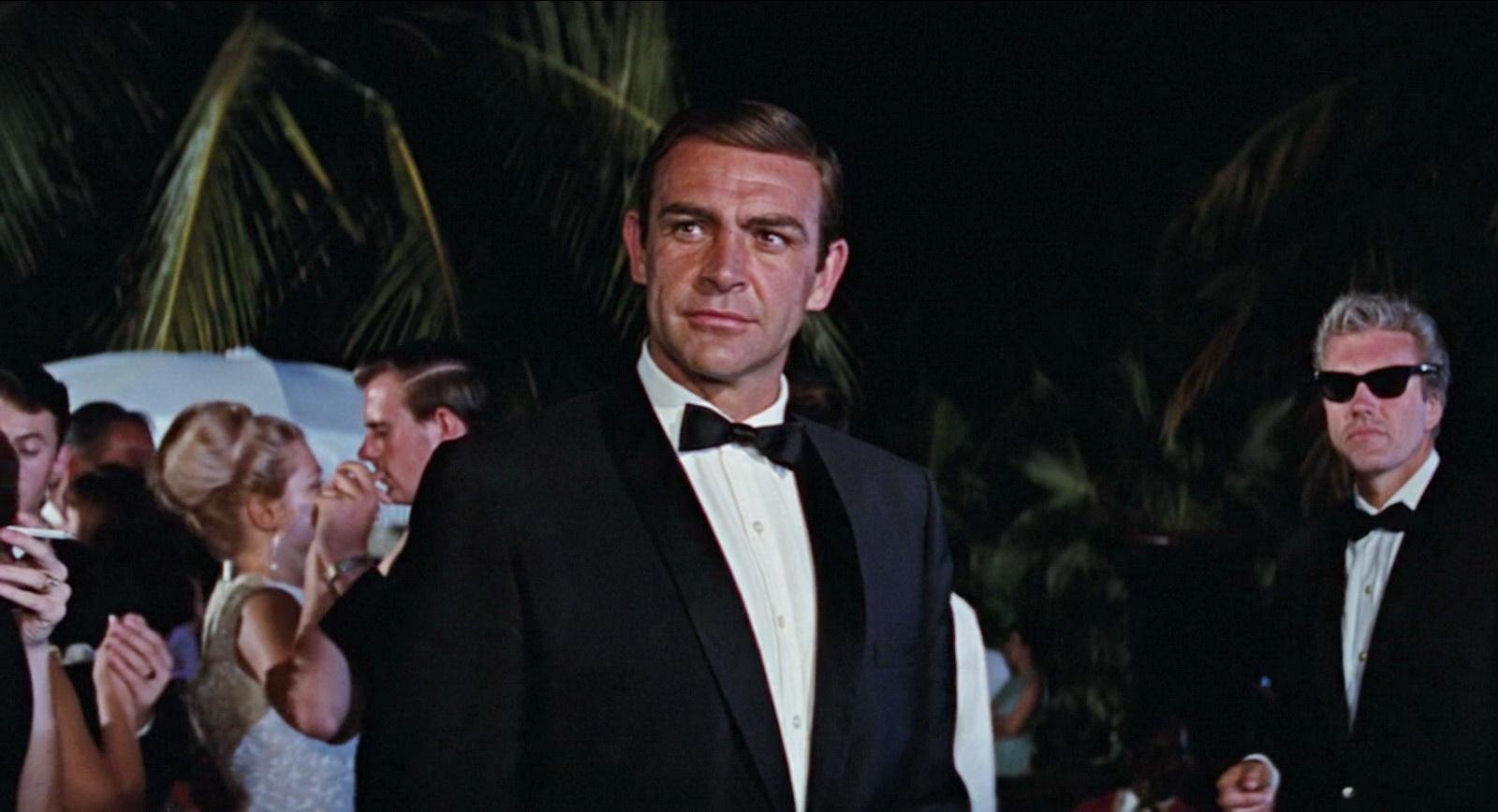 Sean Connery James Bond Suit