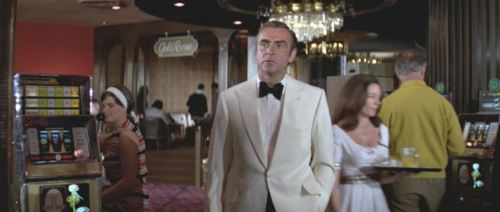Diamonds Are Forever - white dinner jacket
