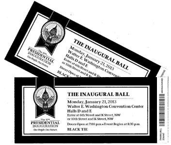 2013_Inaugural_Ball_tickets