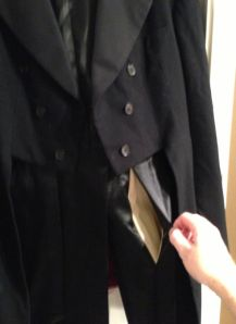 tailcoat pocket