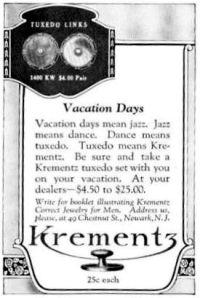 1923 Krementz ad