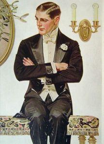 Kuppenheimer catalogue illustration.  1919.