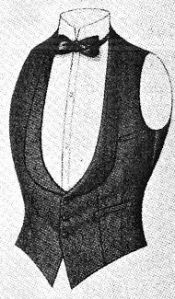 1920 evening vest.  (Fashion Institute of Technology)