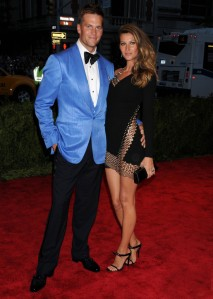 New England Patriots quarterback Tom Brady's sky blue Tom Ford was both loved and loathed by the critics (BroadImage)