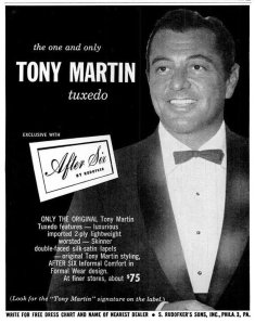 The original celebrity tuxedo.