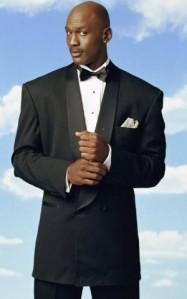 Michael Jordan Tuxedo