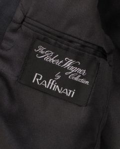 Robert Wagner tuxedo label