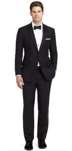 Brooks Brothers Regent fit tuxedo.