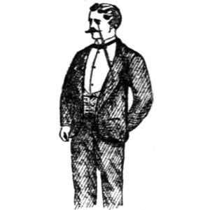 "from 1888 Cincinnati Enquirer article titled ""Tailless Dress Coat"" but that also uses the term ""Tuxedo coat""; article excerpted from Clothier and Furnisher report which does not in fact use the ""tailless"" term"