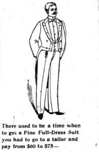 """The Hub"" ad, December 1894."