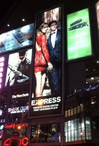 Express billboard