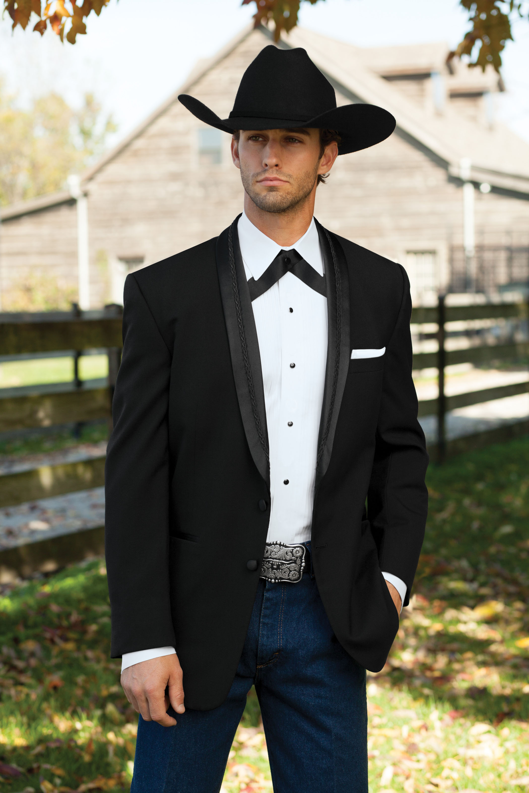 The Western Tuxedo: All Gusssied Up – Black Tie Blog