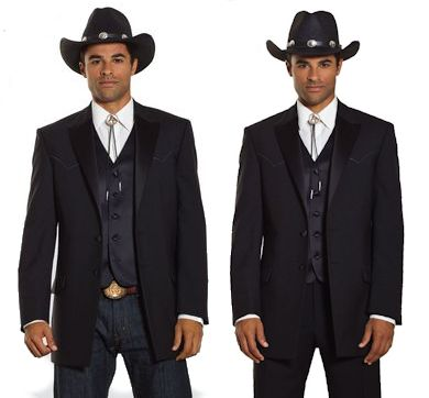 The Western Tuxedo: All Gusssied Up | Black Tie Blog