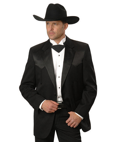 the western tuxedo all gusssied up black tie