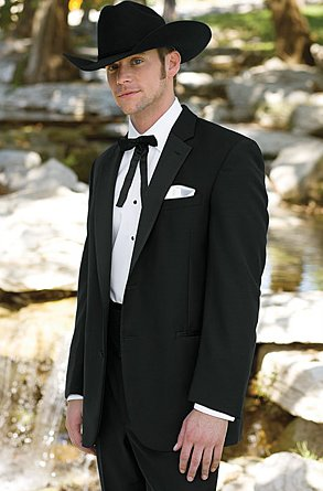 The Western Tuxedo All Gusssied Up Black Tie Blog