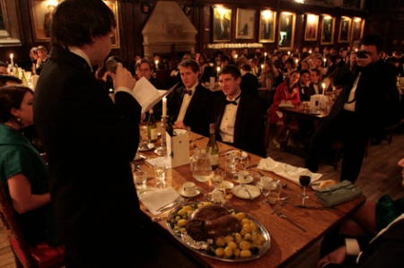 Burns Night celebrations at Oxford University. (Wojtek Szymczak / Cherwell.org)