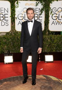 Chris Pine in Ermenegildo Zegna.  ( Jason Merritt/Getty Images)