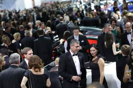 A sea of black tie at the 2014 Charity Preview.  (Romain Blanquart/Detroit Free Press)