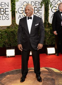 I never thought I'd be putting Mike Tyson in this category.  Love the brocade jacket. (Jason Merritt/Getty Images)