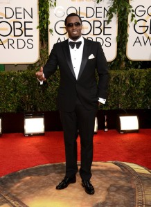 Black Tie Guide hall--of-famer Sean Combs, presumably wearing himself.  ( Jason Merritt/Getty Images)