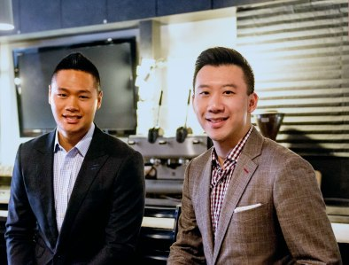 Black Lapel co-owners Warren Liao (left) and Derek Tian (right).