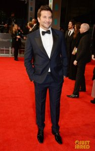 Bradley Cooper in Alexander McQueen. (David M. Benett / Getty Images)