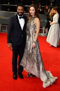 12 years a slave star Chiwetel Ejiofar wearing Mr. Start.  (Dave J. Hogan / Getty Images)