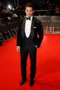 British model David Gandy in Dolce & Gabana. (Dave J. Hogan / Getty Images)