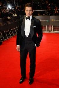 British model David Gandy in Dolce & Gabana. (Dave J. Hogan / Getty Images)