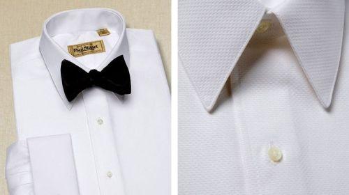 """Piqué formal shirt."" $228."