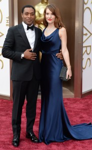 12 Years a Slave star Chiwetel Ejiofor in a Rake tuxedo. (Robyn Beck / AFP / Getty Images)
