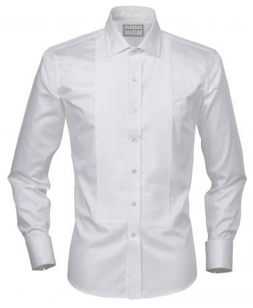 Spotlight the marcella shirt black tie blog for Tuxedo shirt without studs