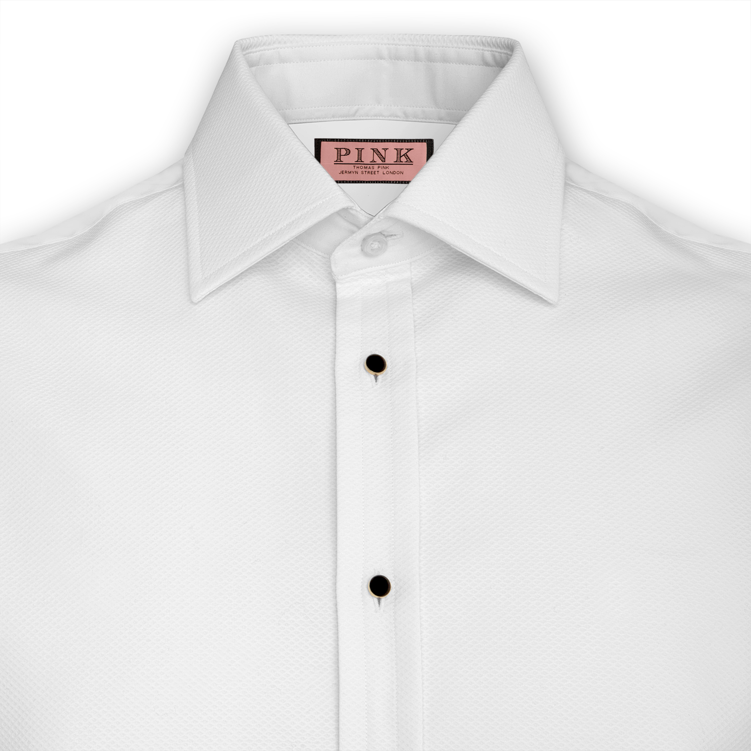 Spotlight the marcella shirt black tie blog for Tuxedo shirt covered placket