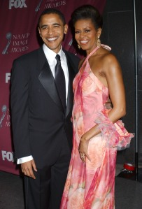 Switching to a long black tie for the 2005 NAACP Image Awards  (Albert L. Ortega / PR Photos)