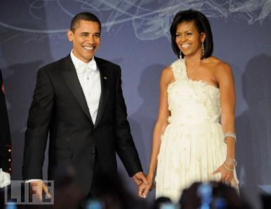 The (in)famous Inaugural Ball outfit. (Life)