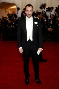 Tom Ford in Tom Ford.  Noticing a pattern yet? (Dimitrios Kambouris / Getty)