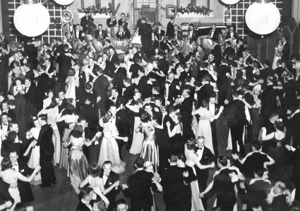 1937 Fireman's Ball at the Empress Hotel in Victoria, B.C.  (The Empress Hotel: In the Grand Style)