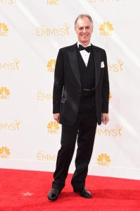 Actor Keith Carradine's morning dress-style waistcoat and watch chain only mar an otherwise handsome tuxedo.  (Frazer Harrison/Getty Images)