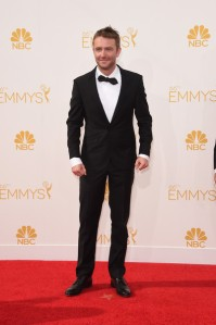 TV personality Chris Hardwick's outfit has all the right details but fails completely in the execution.  ( Jason Merritt/Getty Images)