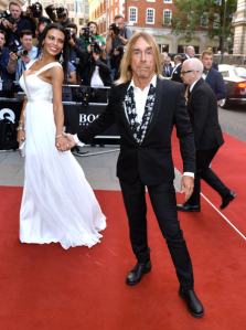 Iggy Pop, another infamously underdressed rocker who seems to have taken on an air of mature sophistication.  (Anthony Harvey/Getty Images Europe)