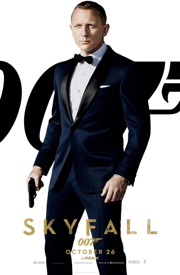 Tom Ford s dark navy dinner suit for 2012 s Skyfall. 655abe2721b