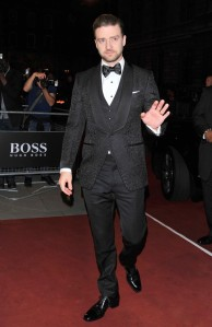 Justin Timberlake at the 2013 GQ Men of the Year Awards.