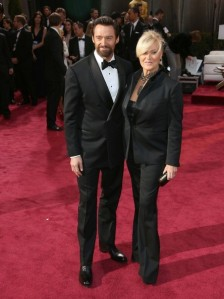 Hugh Jackman at the 2013 Oscars.