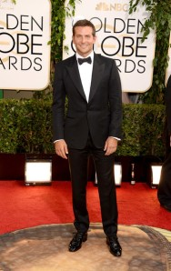 Bradley Cooper at the 2014 Golden Globes.