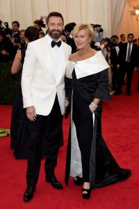 Hugh Jackman at the 2014 Met Gala. (Larry Busacca/Getty Images)